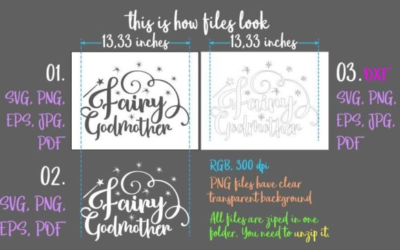 Download Free Fairy Godmother Graphic By Digitals By Hanna Creative Fabrica for Cricut Explore, Silhouette and other cutting machines.