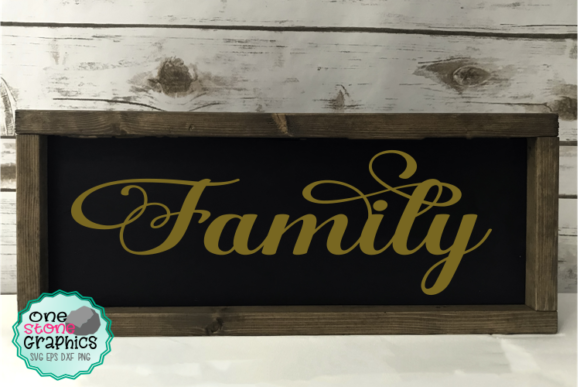 Family Svg Graphic Crafts By OneStoneGraphics
