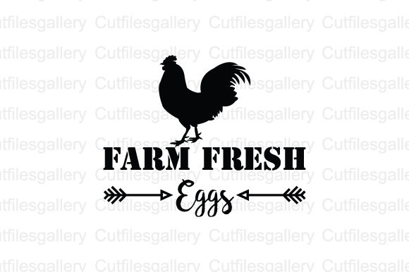 Download Free Farm Fresh Eggs Farm Svg Graphic By Cutfilesgallery Creative for Cricut Explore, Silhouette and other cutting machines.