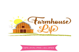 Farmhouse Style Svg Graphic By summersSVG