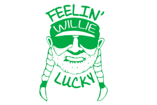 Download Free Feelin Willie Lucky Svg Graphic By Auntie Inappropriate Designs for Cricut Explore, Silhouette and other cutting machines.