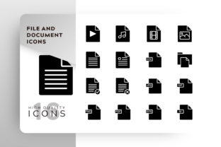 File and Document Icon Pack Graphic By Goodware.Std