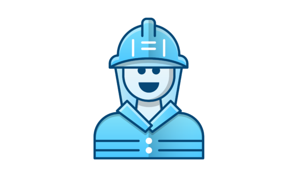 Download Free Fireman Vector Icon Graphic By Back1design1 Creative Fabrica for Cricut Explore, Silhouette and other cutting machines.