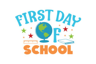 First Day of School Craft Design By Creative Fabrica Crafts