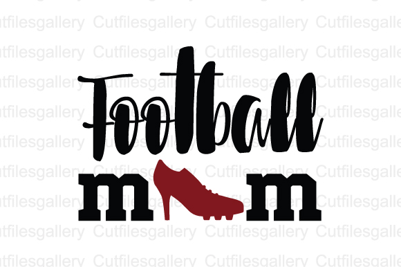Download Free Football Mom Graphic By Cutfilesgallery Creative Fabrica for Cricut Explore, Silhouette and other cutting machines.