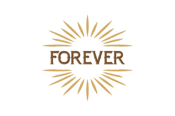 Download Free Forever Quote Graphic By Thelucky Creative Fabrica for Cricut Explore, Silhouette and other cutting machines.