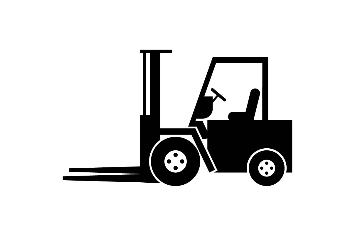 Forklift Icon EPS 10 - Vector (Graphic) by Hoeda80 ...