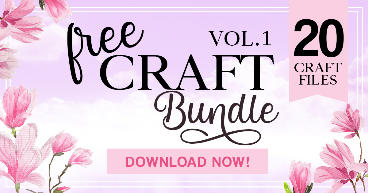 Download Free Free Craft Bundle 2019 Vol 1 Bundle Creative Fabrica for Cricut Explore, Silhouette and other cutting machines.