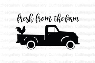 Download Free Fresh From The Farm Svg Graphic By Cutfilesgallery Creative for Cricut Explore, Silhouette and other cutting machines.