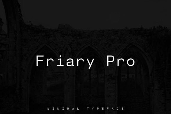 Print on Demand: Friary Pro Sans Serif Font By Webhance