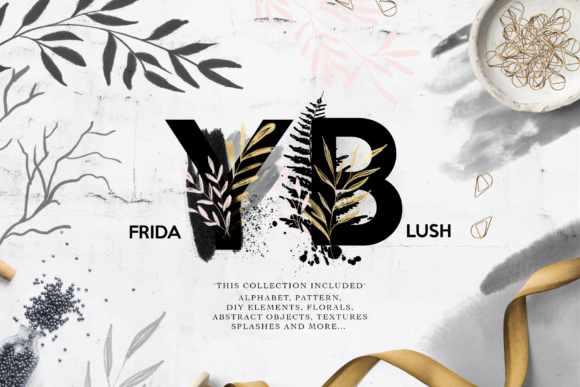 Friday Blush Graphic Illustrations By BilberryCreate