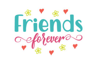 Friends Forever Craft Design By Creative Fabrica Crafts