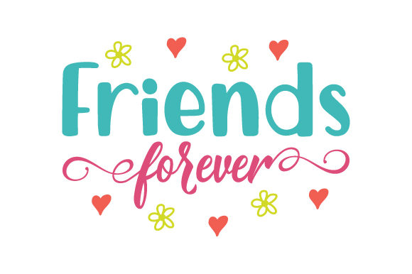 Download Free Friends Forever Svg Cut File By Creative Fabrica Crafts for Cricut Explore, Silhouette and other cutting machines.