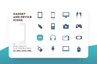 Gadget and Device Icon Pack Graphic By Goodware.Std