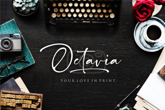 Print on Demand: Gallatone Script & Handwritten Font By Sronstudio - Image 4