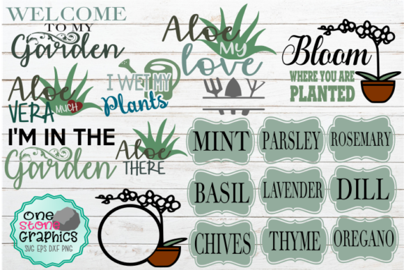 Garden Svg Bundle Graphic Crafts By OneStoneGraphics
