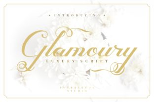 Glamoury Font By putracetol