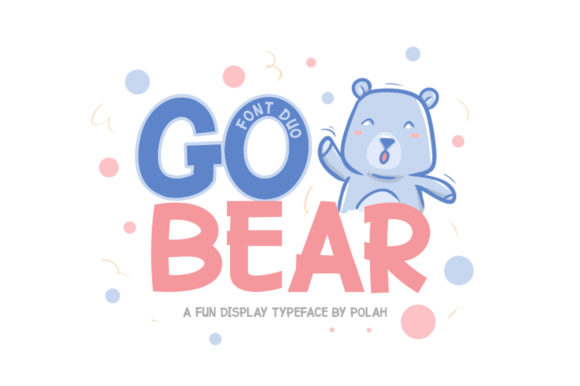Print on Demand: Go Bear Display Font By saipulkhurasan