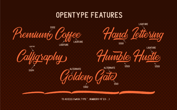Download Free Golden Gate Duo Font By Adriansyah Creative Fabrica for Cricut Explore, Silhouette and other cutting machines.
