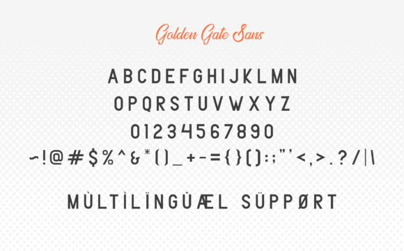 Golden Gate Duo Font By Adriansyah Image 4
