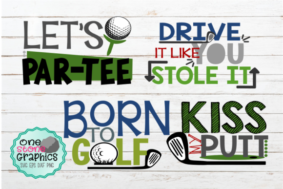 Golf Bundle Graphic Crafts By OneStoneGraphics