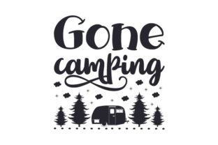 Gone Camping Craft Design By Creative Fabrica Crafts