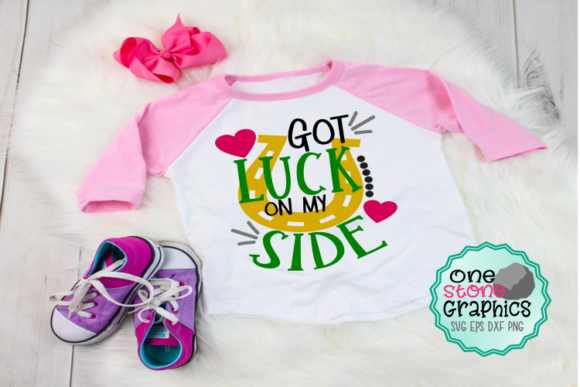 Got Luck on My Side Svg Graphic Crafts By OneStoneGraphics