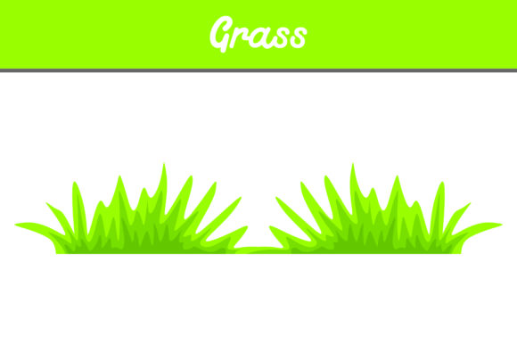 Print on Demand: Grass Vector Graphic Icons By Arief Sapta Adjie II