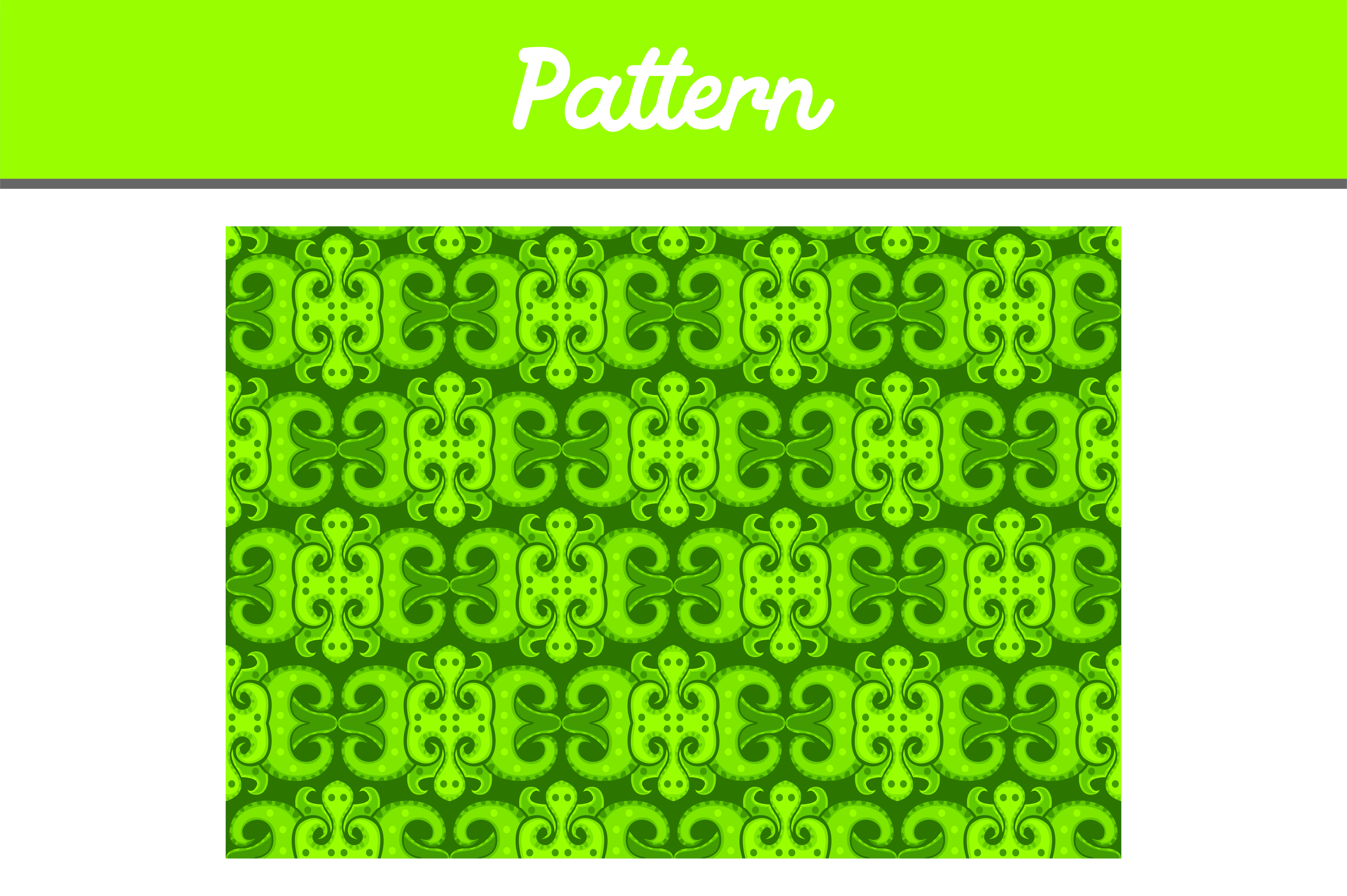 Download Free Green Background Ornament Pattern Graphic By Arief Sapta Adjie for Cricut Explore, Silhouette and other cutting machines.