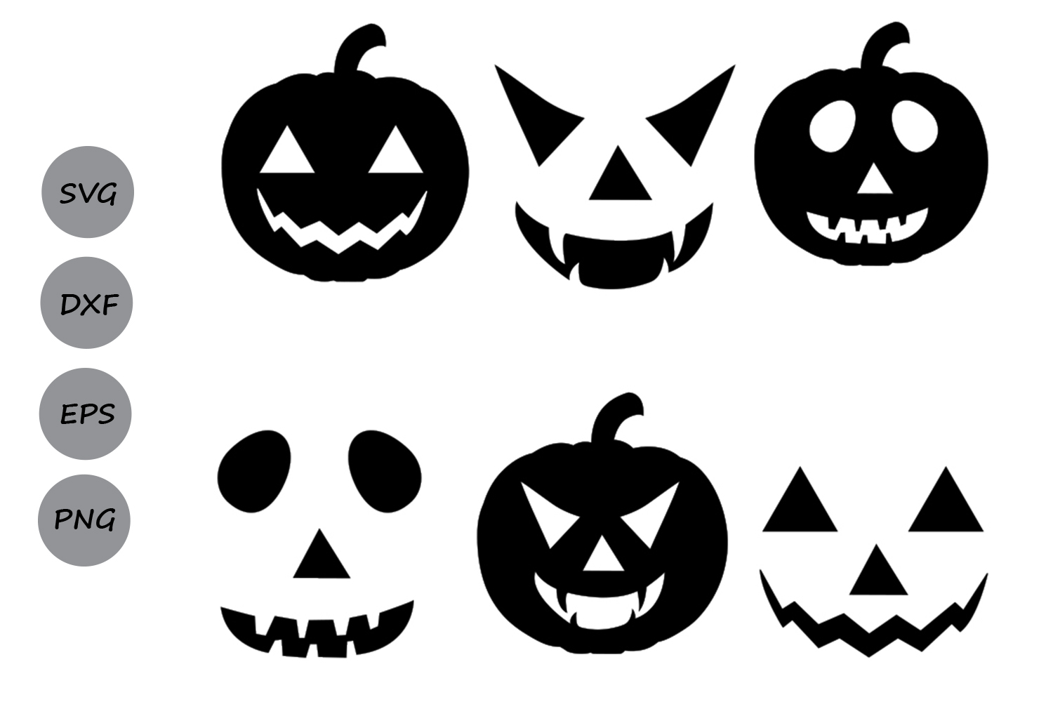 Download Free Halloween Pumpkin Monogram Svg Graphic By Cosmosfineart for Cricut Explore, Silhouette and other cutting machines.