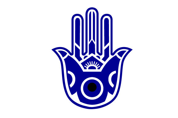Download Free Hamsa With The Evil Eye Svg Cut File By Creative Fabrica Crafts for Cricut Explore, Silhouette and other cutting machines.
