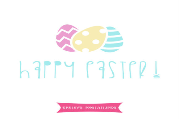 Print on Demand: Happy Easter Graphic Crafts By summersSVG