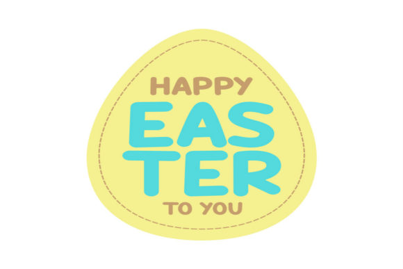 Print on Demand: Happy Easter to You Graphic Crafts By summersSVG