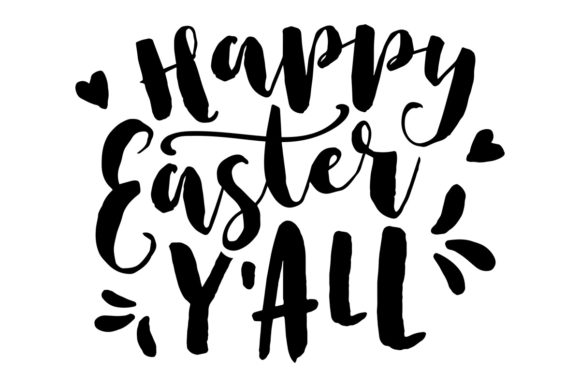 Download Free Happy Easter Y All Svg Cut File By Creative Fabrica Crafts for Cricut Explore, Silhouette and other cutting machines.