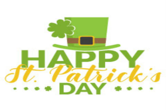 Print on Demand: Happy St. Patrick's Day! Graphic Crafts By summersSVG - Image 1