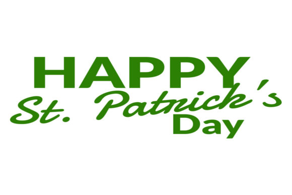 Print on Demand: Happy St. Patrick's Day! Graphic Crafts By summersSVG