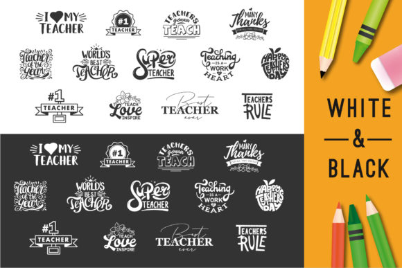 Download Free Happy Teachers Day Quotes Graphic By Peliken Creative Fabrica for Cricut Explore, Silhouette and other cutting machines.