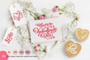 Happy Valentines Day Heart SVG Graphic By Happy Letters