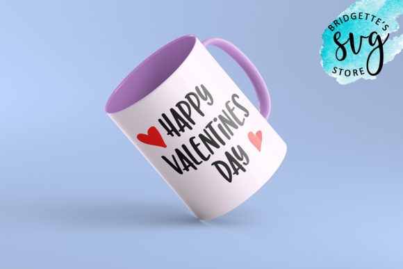 Download Free Happy Valentines Day Graphic By Luxmauve Creative Fabrica PSD Mockup Template