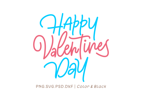 Print on Demand: Happy Valentines Day Graphic Crafts By Momentos Crafter