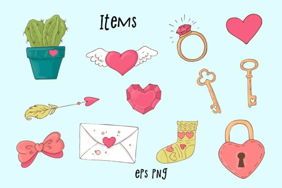 Print on Demand: Happy Valentine's Day! Graphic Illustrations By nicjulia - Image 8