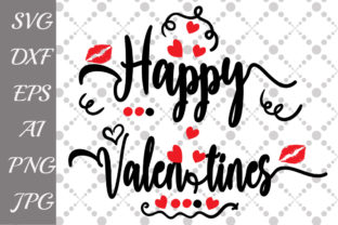 Download Free Happy Valentines Graphic By Prettydesignstudio Creative Fabrica for Cricut Explore, Silhouette and other cutting machines.