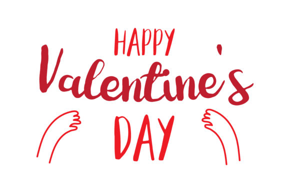Download Free Happy Valentine S Day Quote Svg Cut Graphic By Thelucky Creative Fabrica PSD Mockup Template