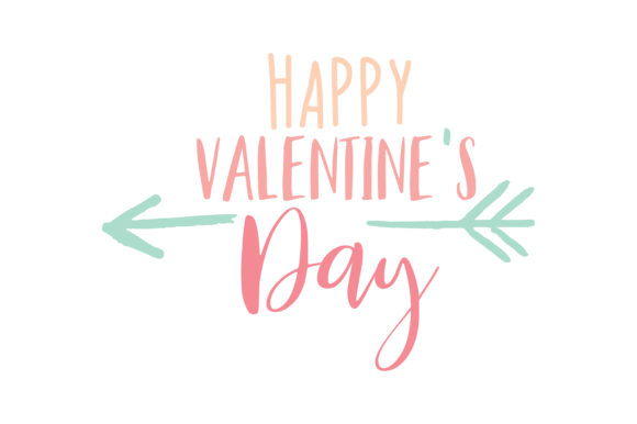 Happy Valentine S Day Quote Svg Cut Graphic By Thelucky