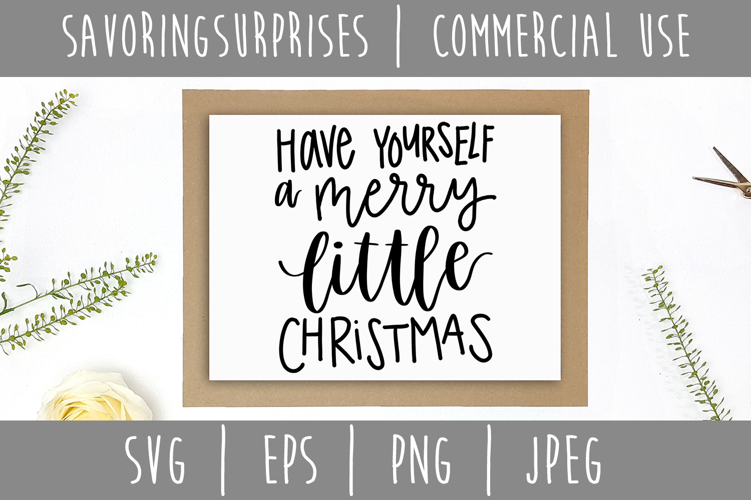 Have Yourself A Merry Little Christmas Svg.Have Yourself A Merry Little Christmas Svg