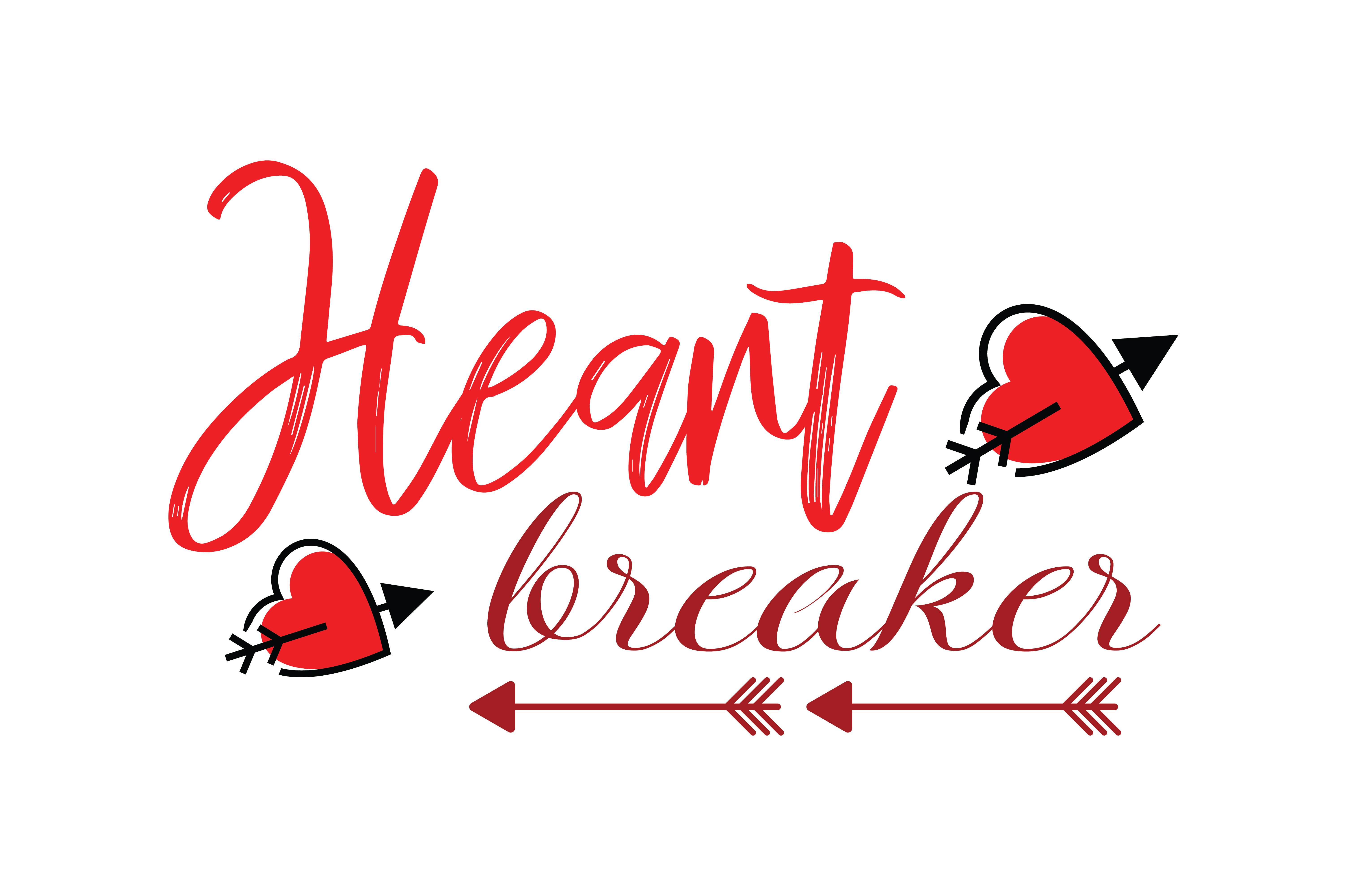 Download Free Heart Breaker Quote Svg Cut Graphic By Thelucky Creative Fabrica for Cricut Explore, Silhouette and other cutting machines.