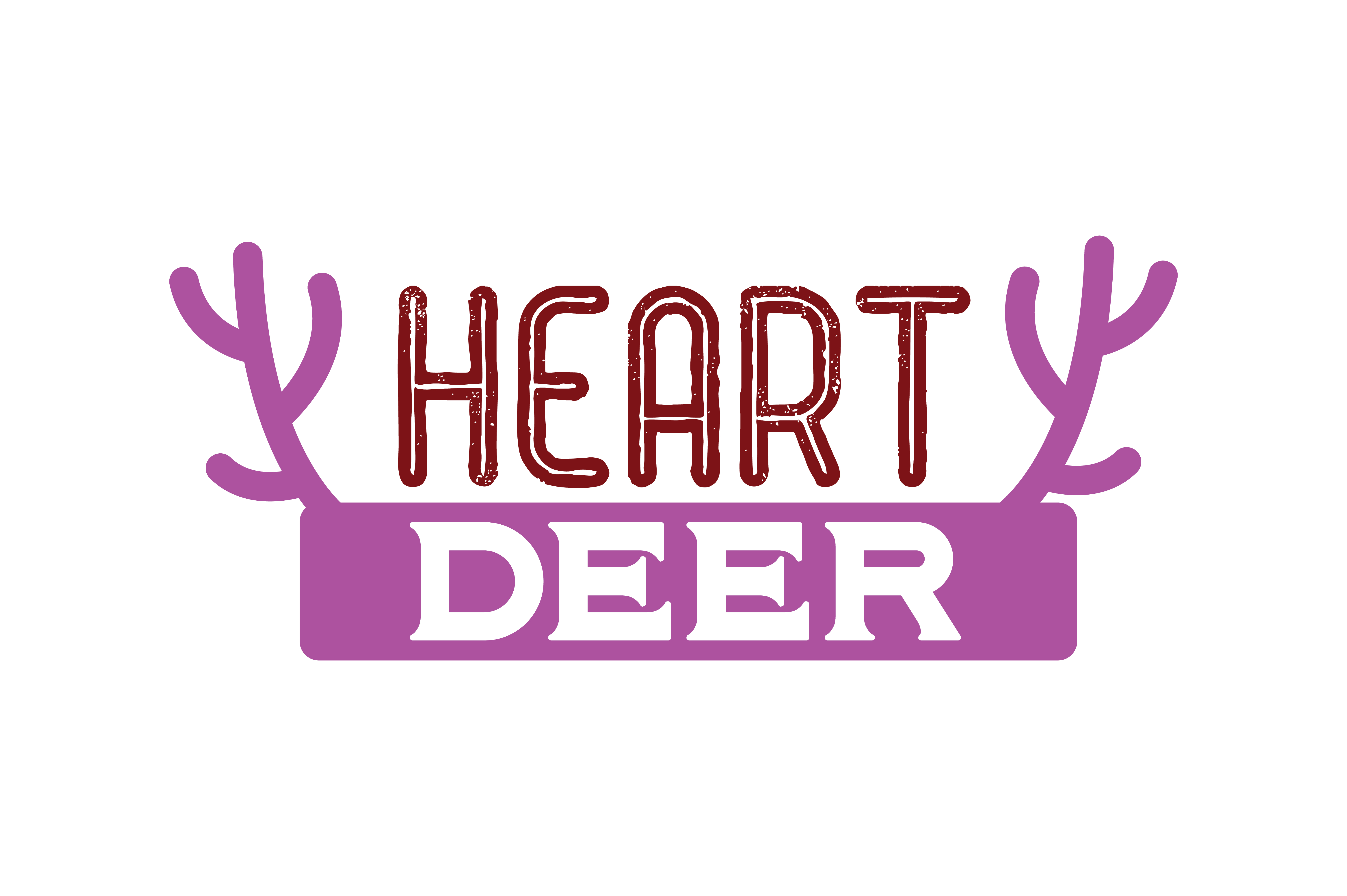 Download Free Heart Deer Quote Svg Cut Grafik Von Thelucky Creative Fabrica for Cricut Explore, Silhouette and other cutting machines.
