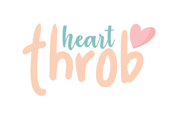 Download Free Heart Throb Quote Svg Cut Graphic By Thelucky Creative Fabrica SVG Cut Files