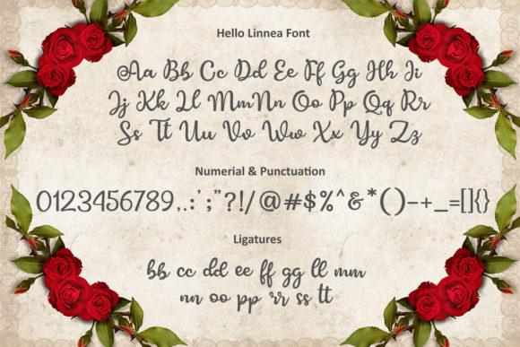 Hello Linnea Font By Subectype Image 2