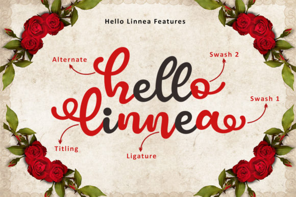 Hello Linnea Font By Subectype Image 3